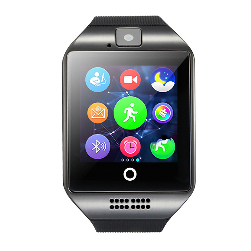 Q18 smart watch android dual sim smart phone dz09 smart watch