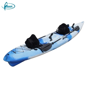 Original Design 2 person PE kayak sale, 2 person speed PE boat, PE kayak double