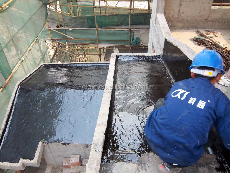 Single part Polyurethane Waterproof Roofing Paint epdm liquid rubber coating
