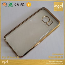 gold chrome knuckle back case mobile phone cover for samsung galaxy j7 j5 j2 s7 s6 s5 s4