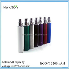 New eGo II twist vv 2200 mAh 3.3V-4.8V Variable Voltage ego 2 2200mah huge capacity battery