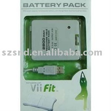 For Wii Fit 2800mAh Rechargeable Battery Pack