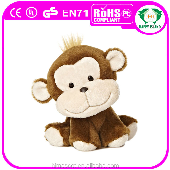 Hot sale super soft lovely plush monkey stuffed animals from china