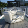 Sofa Chesterfield 2 Seater White Inflatable