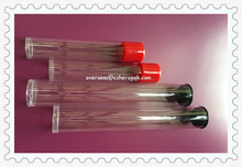 21mm Plastic Tube For Cosmetics Packaging Cylinder Tube With Two End Cap