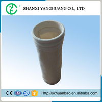 Baghouse nomex dust collector filter bag for ferroalloy plant