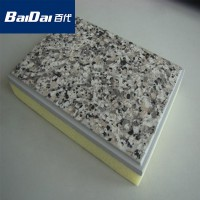 Baidai high quality polyurethane faux stone wall panel