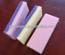 2013 hot selling Professional Colorful Double Sided Pumice stone for Beauty&Personal Care