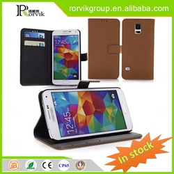 smart phone ring holder case leather with great price for Samsung Galaxy S5 I9600