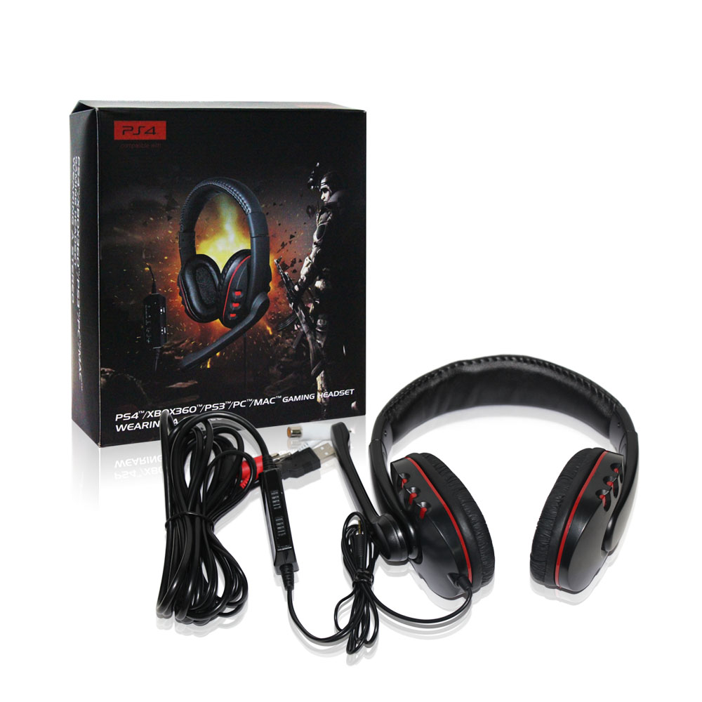 2016 Brand New wireless headset, for Ps4 With bluetooth headset, for Ps4/XBOX360/PS3/PC 4in1 With bluetooth headphone