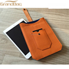 Fashion pebbled leather case for ipad real leather tablet cover cow leather felt cover for ipad
