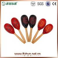 China style Customized musical wooden maracas