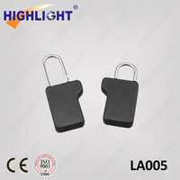 Highlight LA005 clothing store anti-theft EAS magnetic security tag 8.2mhz alarm padlock