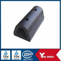 OEM factory customized O shaped rubber dork bumper/sea water proof dock bumper/ rubber damper