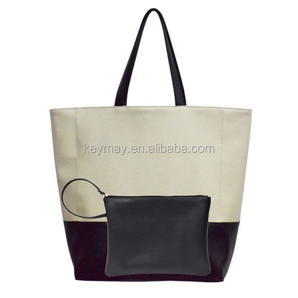 Women 3 Piece Tote Bag Pu Leather Handbag Purse Bags Set