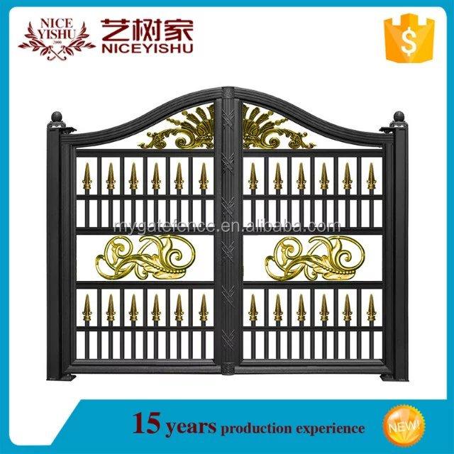 Modern Main Gate Designs Cattle Sliding Gate Powder Coated