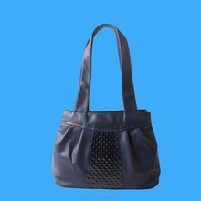 metallic pu leather bag girls' weekend