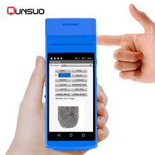 Smart Phone Portable pda Android Barcode Scanner With Receipt Thermal Printer