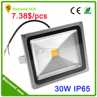 Hot sell ,factory price,rgb CE ROHS 30w flood led light for park decoration