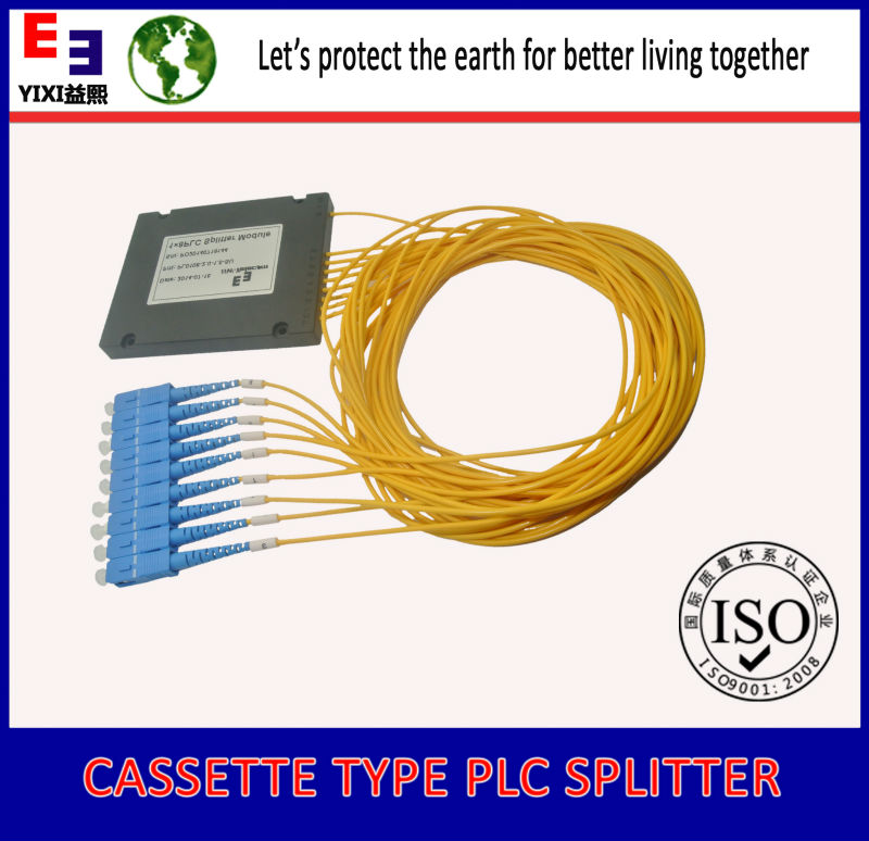 excellence in networking internet telecom rack mount fiber optic plc splitter