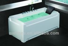 Acrylic Tub Surround Stainless Steel Jets Underwater Acrylic Bath Tub