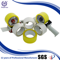 Low Price Strong Adhesion Transparent/ Yellowish Packaged Tape With Acrylic Glue