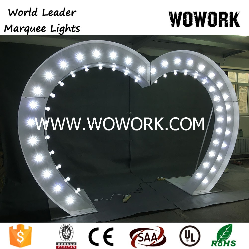 decorative led wedding arch