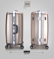 Chinese decent leisure luxury ABS PC suitcase tourist travel luggage