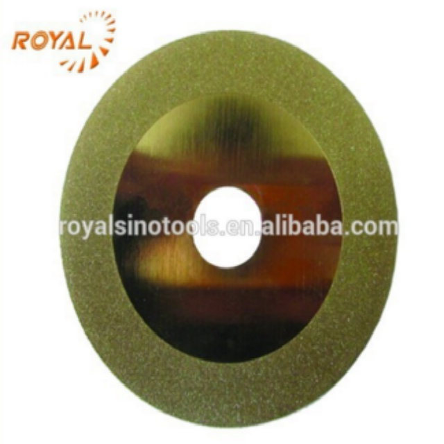 Titanium electroplated diamond cutting disc,diamond grinding wheel