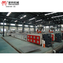 PVC windows profile extrusion line wooden grain sheet pvc deco profile extrusion line
