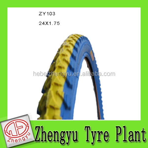 mountain color bike tire / color bike tire/ solid bicycle tyres