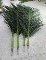 artificial coco palm tree leaves