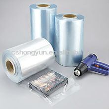 Rigid Bluish Transparent sleeve PVC Packing Film PVC film