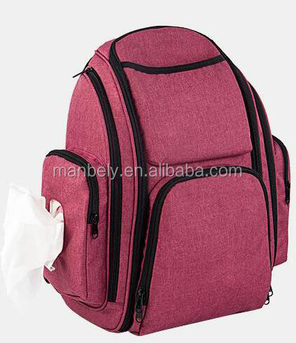Multi-functional large capacity Mummy bag shoulder partition fashion mother baby bag waterproof insulation bag