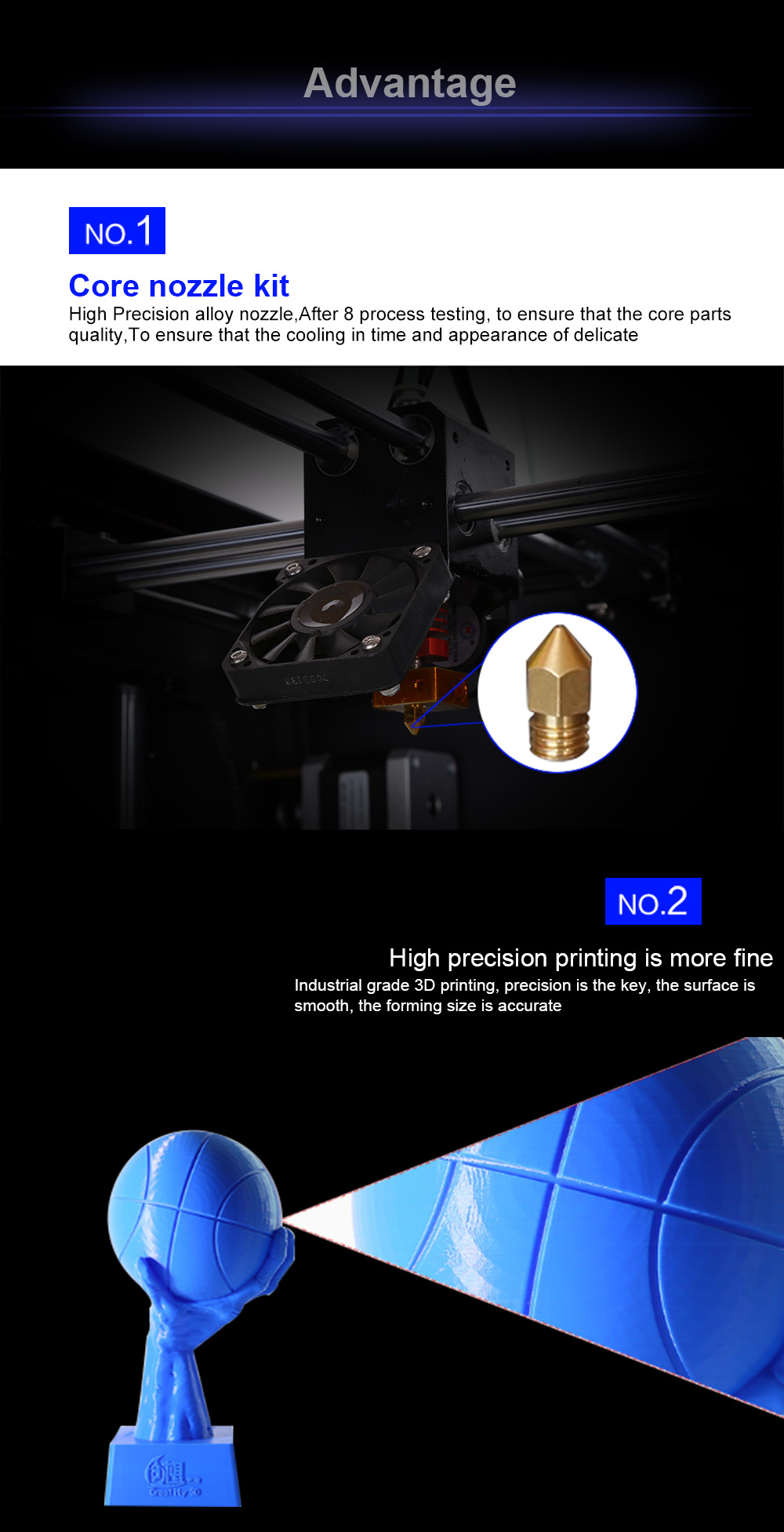 Creality 3D Industrial 3D Printer Machine Large CR-3040