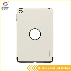 Anti-scratch heavy duty shockproof low moq phone case cover for ipad mini4