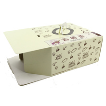 Take away Paper Cardboard custom printed bakery boxes