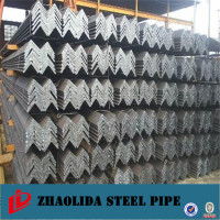steel section ! l angle steel bar with hole for construction price angle iron 60x60x5