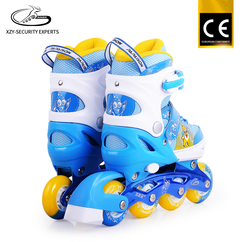 Kids Land Roller Skate Shoes Professional Factory Sample Mini Inline Shoes For Kids