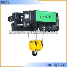 Low Headroom Electric Wire Rope Hoist For General Workshop Application 12.5 Ton