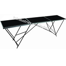 Aluminum folding wallpaper table factory with high quality