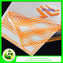Custom tagless 3d silicone heat transfer label, silicone rubber heat transfer label