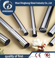 202 cold rolled 8k finish ss round pipe in factory price