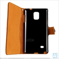 Best selling for samsung galaxy note4 case, wallet folio case for samsung galaxy note4