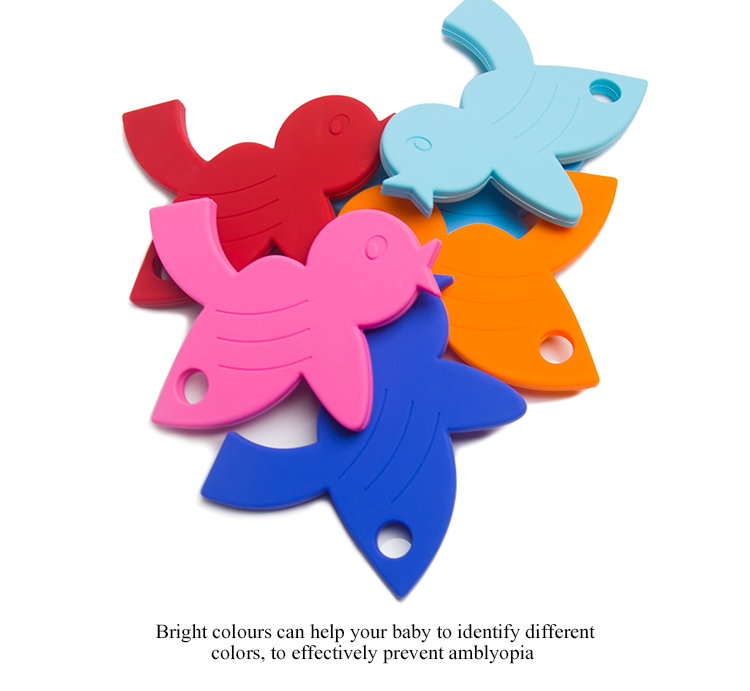 nursing baby gift 100% food grade silicone teether wholesale