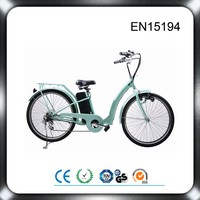 CE EN15194 green city electric bicycle/electric bike