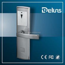 RFID card hotel lock with smart cards and software from deluns manufacture