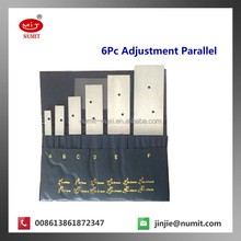 Parallels Consist of Two Accurately Dovetailed Sliding Pieces Adjustable Parallel Set