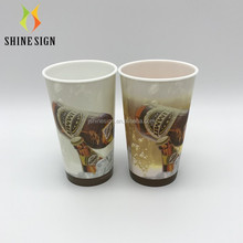 temperature sensitive cold water color changing plastic cup with custom advertising logo