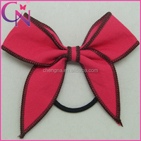 Lovely Bowknot Hair Bow With Black Elastic Band For Baby Girl(CNEHB-14071133)